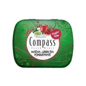 خوشبو کننده دهان کامپس با طعم Matcha-Green Tea بسته 50 عددی