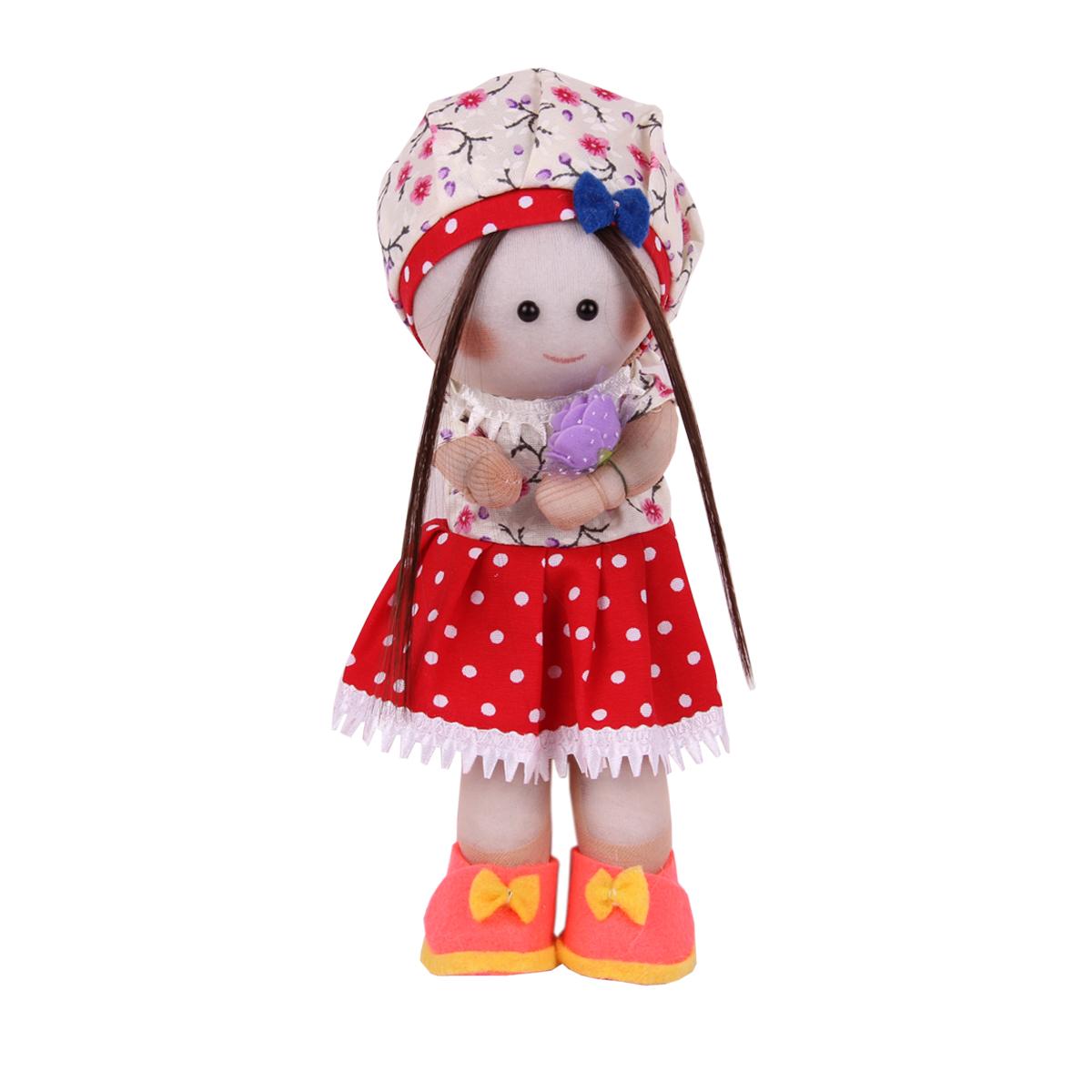عروسک طرح دختر روسی کد 78 ارتفاع 24 سانتی متر
