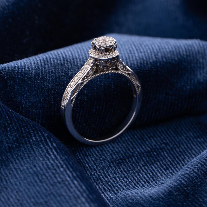 انگشتر طلا 18 عیار جواهری سون مدل 2026