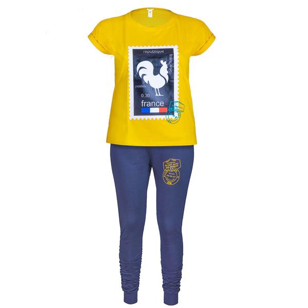 ست تی شرت و شلوار زنانه یشیم کد YS1062