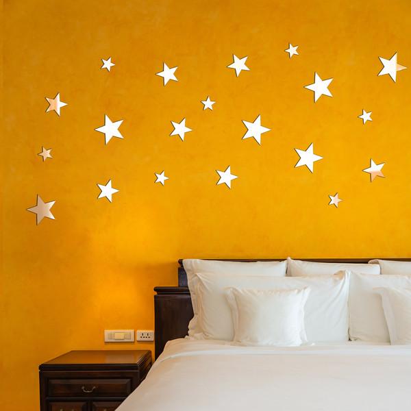 آینه دکوراتیو طرح ستاره شب