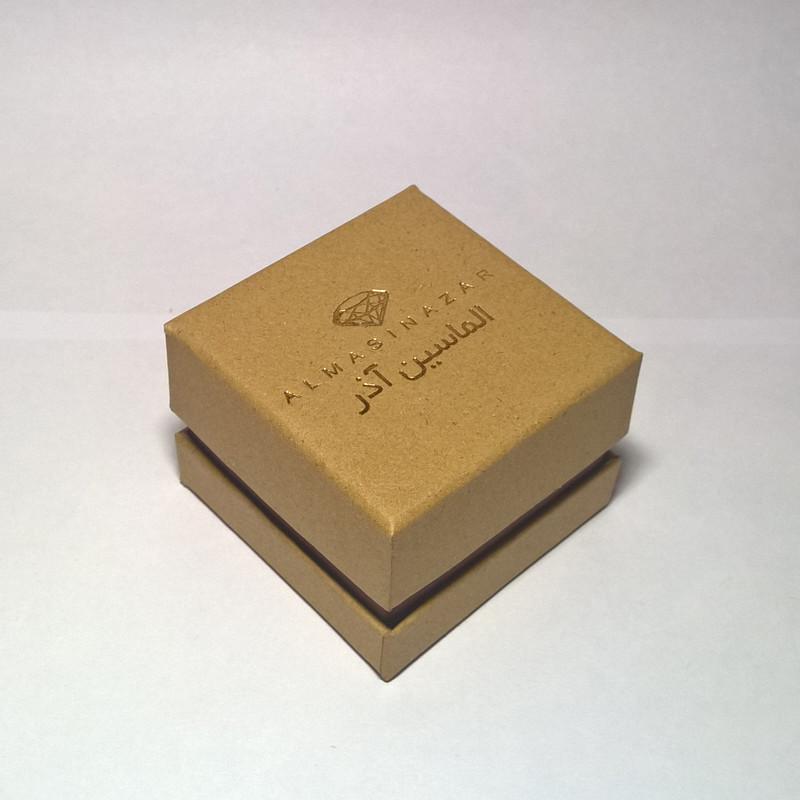 انگشتر طلا 18 عیار زنانه الماسین آذر کد N02