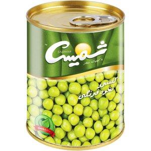 کنسرو نخود فرنگی شمیسا - 430 گرم