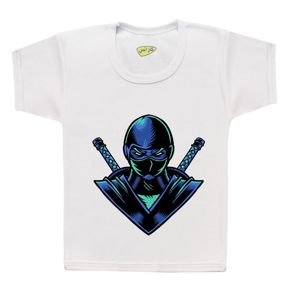 تی شرت پسرانه کارانس طرح نینجا مدل BT-2023