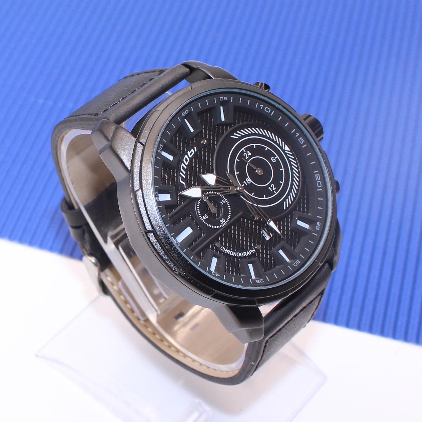 کد تخفیف                                       ساعت مچی عقربه ای مردانه سینوبی مدل S9786G BLC