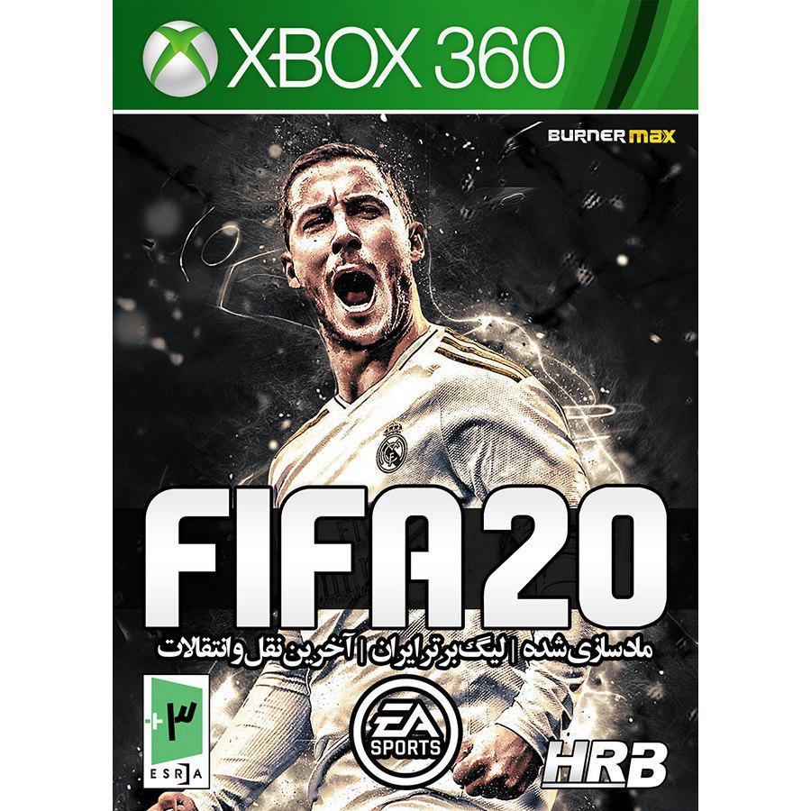 بازی FIFA 2020 به همراه لیگ برتر ایران مخصوص XBox 360