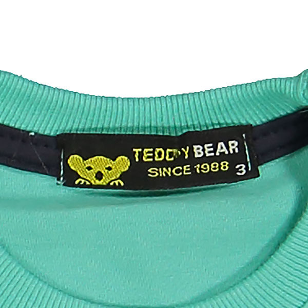 ست تیشرت و شلوارک پسرانه خرس کوچولو طرح Croco کد C-300