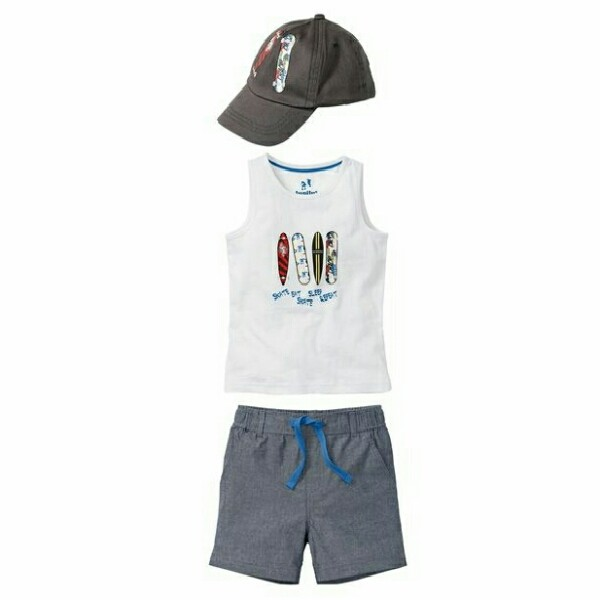 ست 3 تکه لباس پسرانه لوپیلو کد Y29