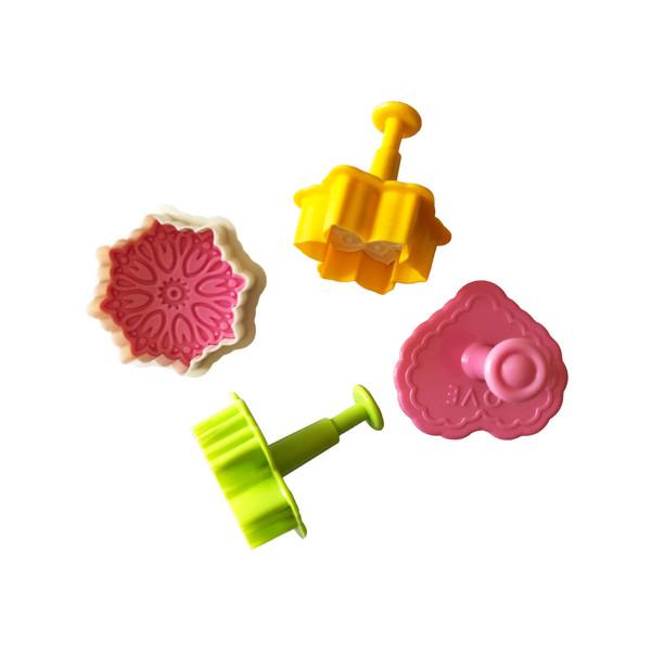 کاتر شیرینی پزی مدل شایسته کد 003 مجموعه 4 عددی