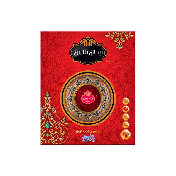 زعفران سرگل رویال پلاس - 2 گرم
