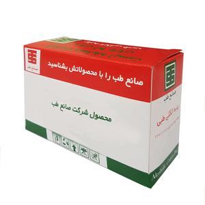 پنبه الکل طبی صانع طب کد 6897 بسته 50 عددی