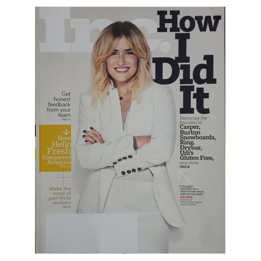 مجله Inc آگوست 2018
