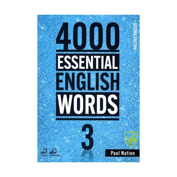 خرید                      کتاب 4000Essential English Words 3  اثر Paul Nation انتشارات جنگل