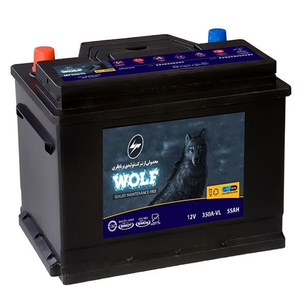 باتری اتمی خودرو برنا مدل ولف