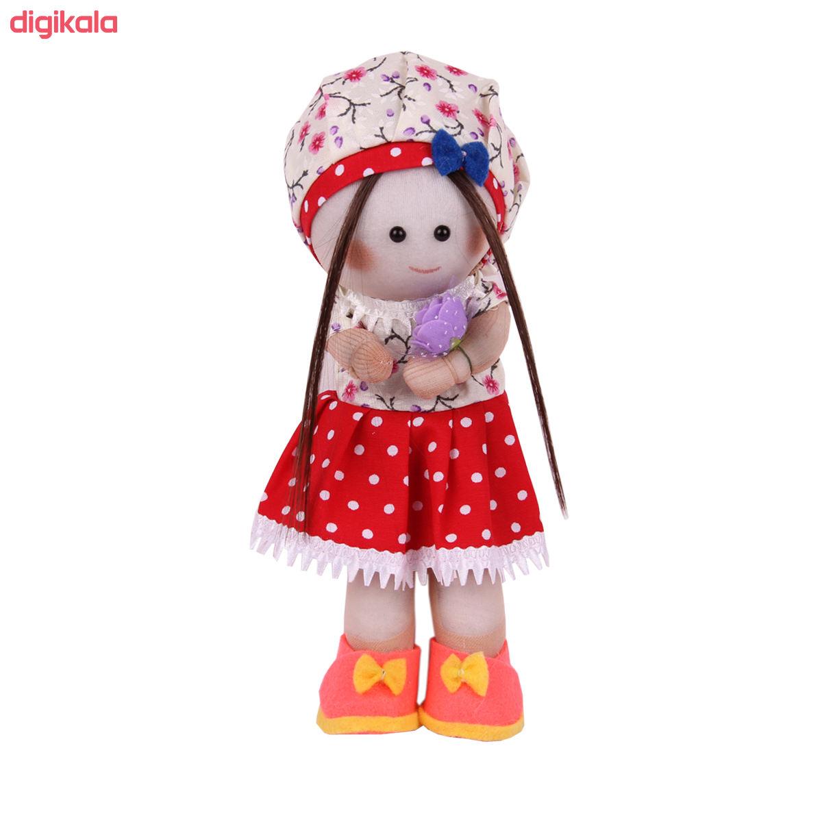 عروسک طرح دختر روسی کد 78 ارتفاع 24 سانتی متر  main 1 1