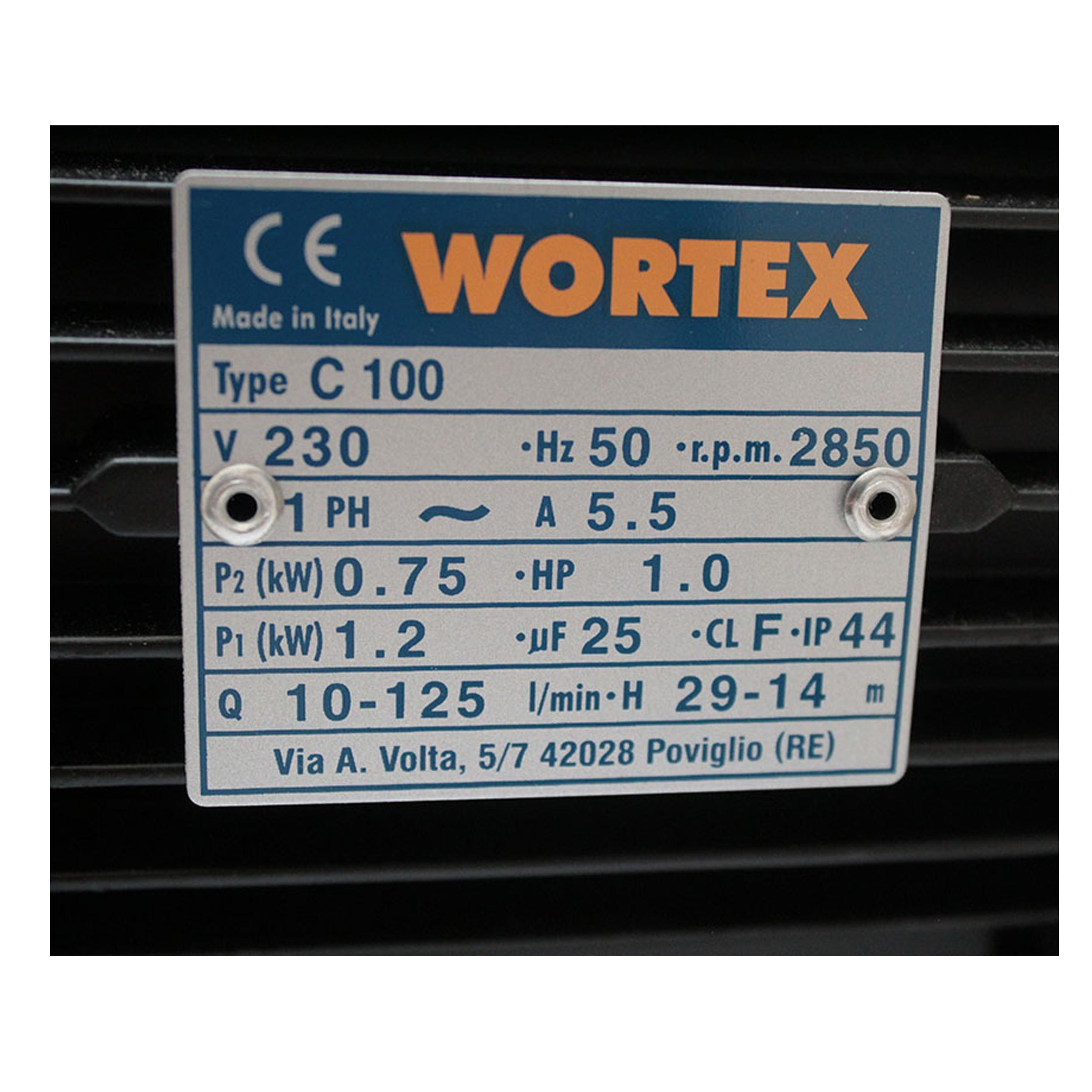 پمپ آب  ورتکس مدل C100