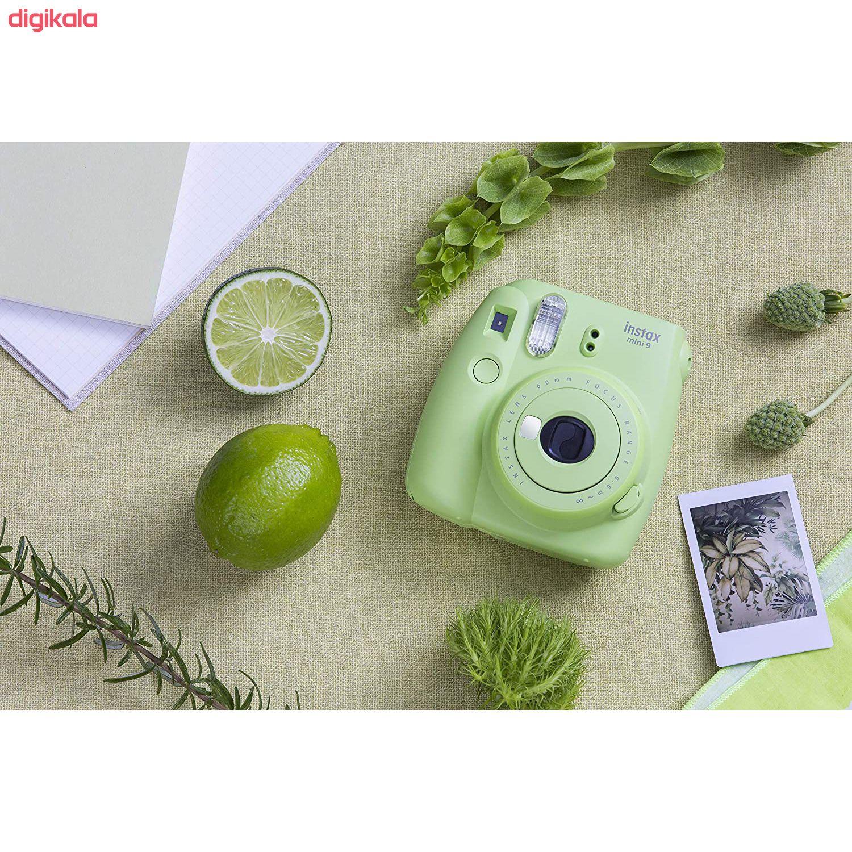 دوربین عکاسی چاپ سریع فوجی فیلم مدل Instax Mini 9 به همراه  فیلم مخصوص main 1 16