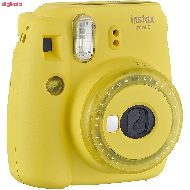 دوربین عکاسی چاپ سریع فوجی فیلم مدل Instax Mini 9 به همراه  فیلم مخصوص main 1 30