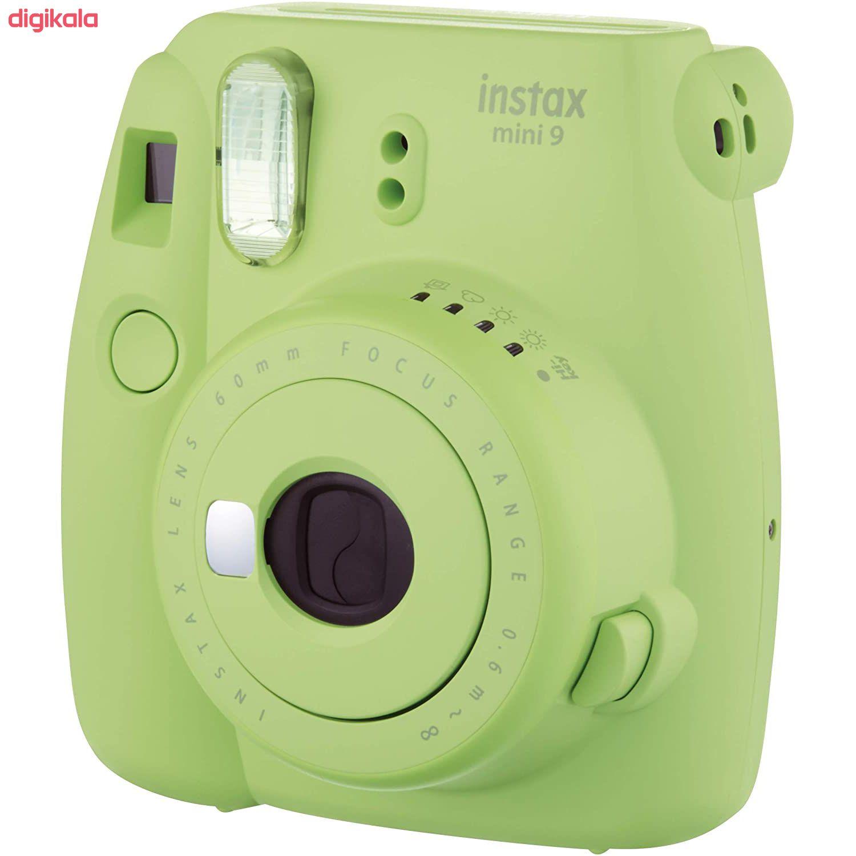 دوربین عکاسی چاپ سریع فوجی فیلم مدل Instax Mini 9 به همراه  فیلم مخصوص main 1 36
