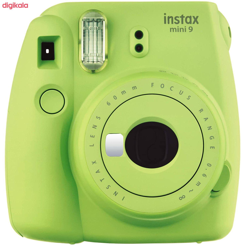 دوربین عکاسی چاپ سریع فوجی فیلم مدل Instax Mini 9 به همراه  فیلم مخصوص main 1 41