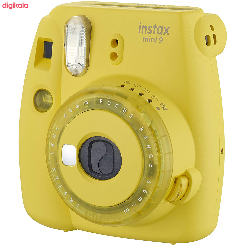 دوربین عکاسی چاپ سریع فوجی فیلم مدل Instax Mini 9 به همراه  فیلم مخصوص main 1 42