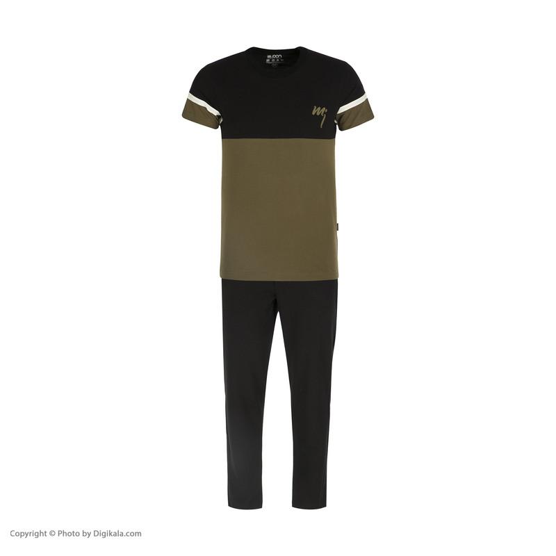 ست تی شرت و شلوار راحتی مردانه مولی جون مدل 2431102-7899