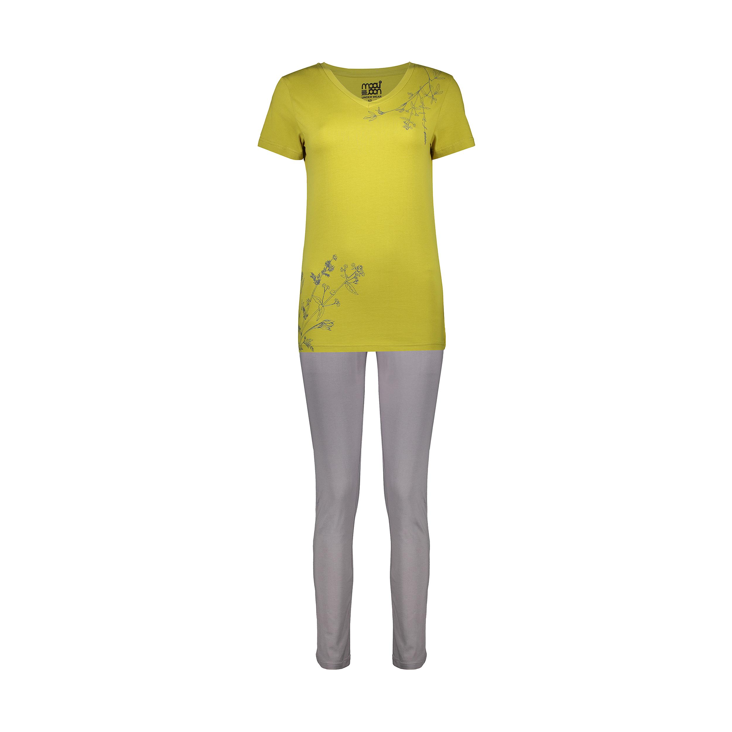 ست تی شرت و شلوار راحتی زنانه مولی جون مدل 2431107-4390