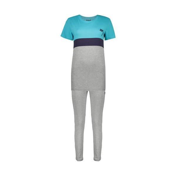 ست تی شرت و شلوار راحتی زنانه مولی جون مدل 2431118-5493