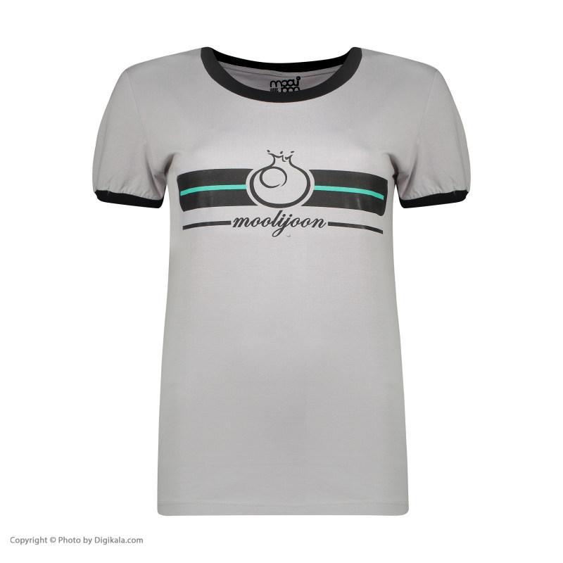 ست تی شرت و شلوار راحتی زنانه مولی جون مدل 2431119-9399