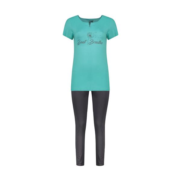 ست تی شرت و شلوار راحتی زنانه مولی جون مدل 2431105-5392