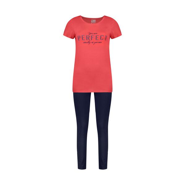 ست تی شرت و شلوار راحتی زنانه مولی جون مدل 2431106-6659