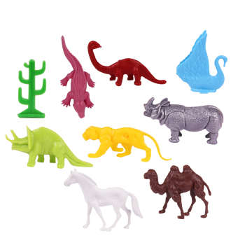 فیگور مدل حیوانات کد 6002 بسته 9 عددی