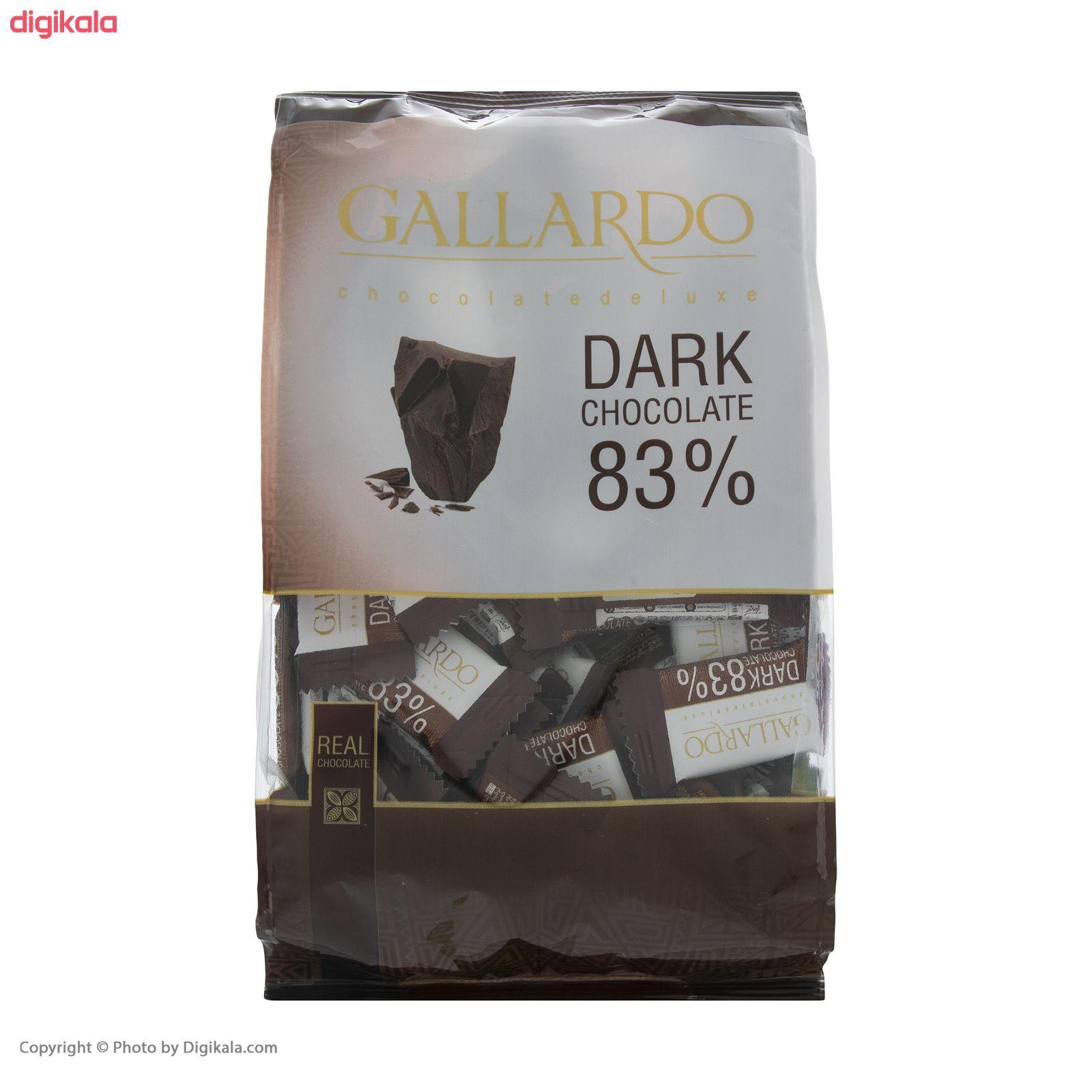 شکلات تلخ 83 درصد گالاردو  فرمند - 330 گرم main 1 5