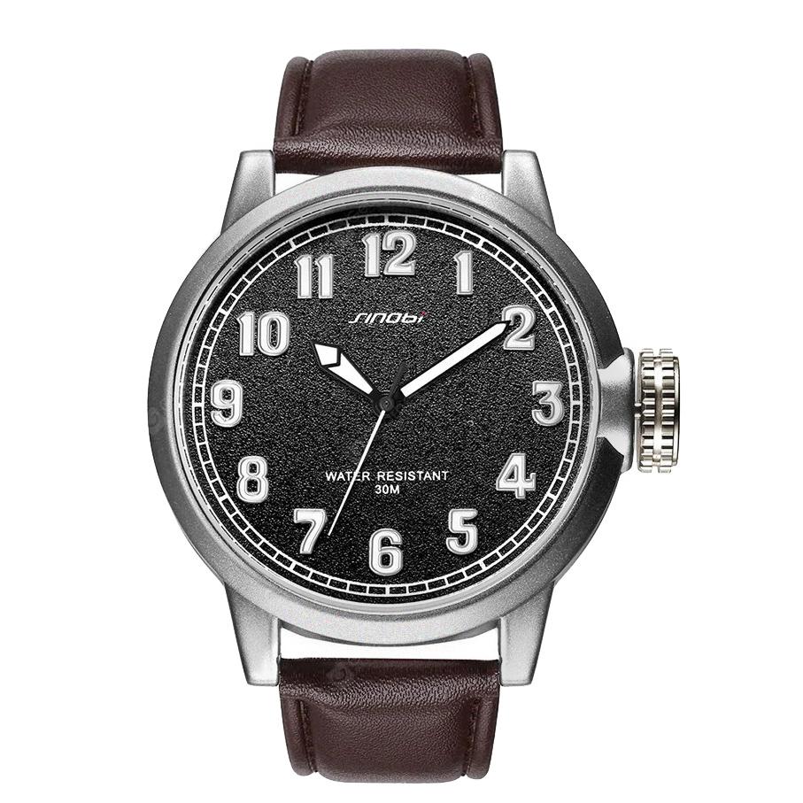 ساعت مچی عقربه ای مردانه سینوبی مدل S9608G BR              ارزان