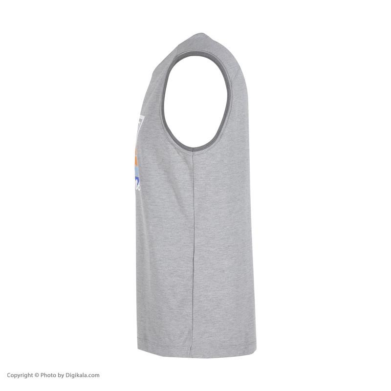 تاپ ورزشی مردانه هالیدی مدل 806602-light gray