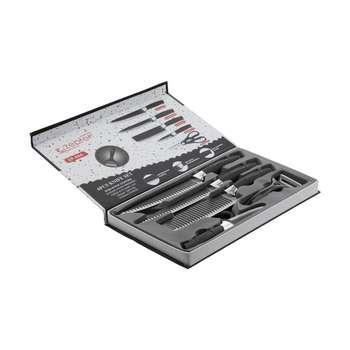 سرویس چاقو آشپزخانه 6 پارچه زپتف مدل ZP- 004
