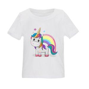 تی شرت بچگانه مدل اسب تک شاخ کد TSb31