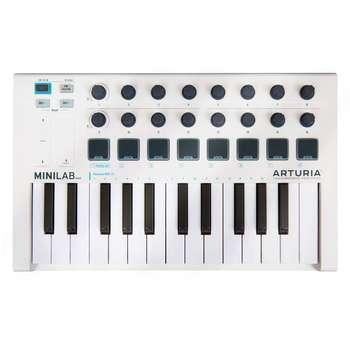 تصویر کیبورد میدی کنترلر آرتوریا مدل MiniLab Mk II Arturia MiniLab Mk II Midi Controller Keyboard