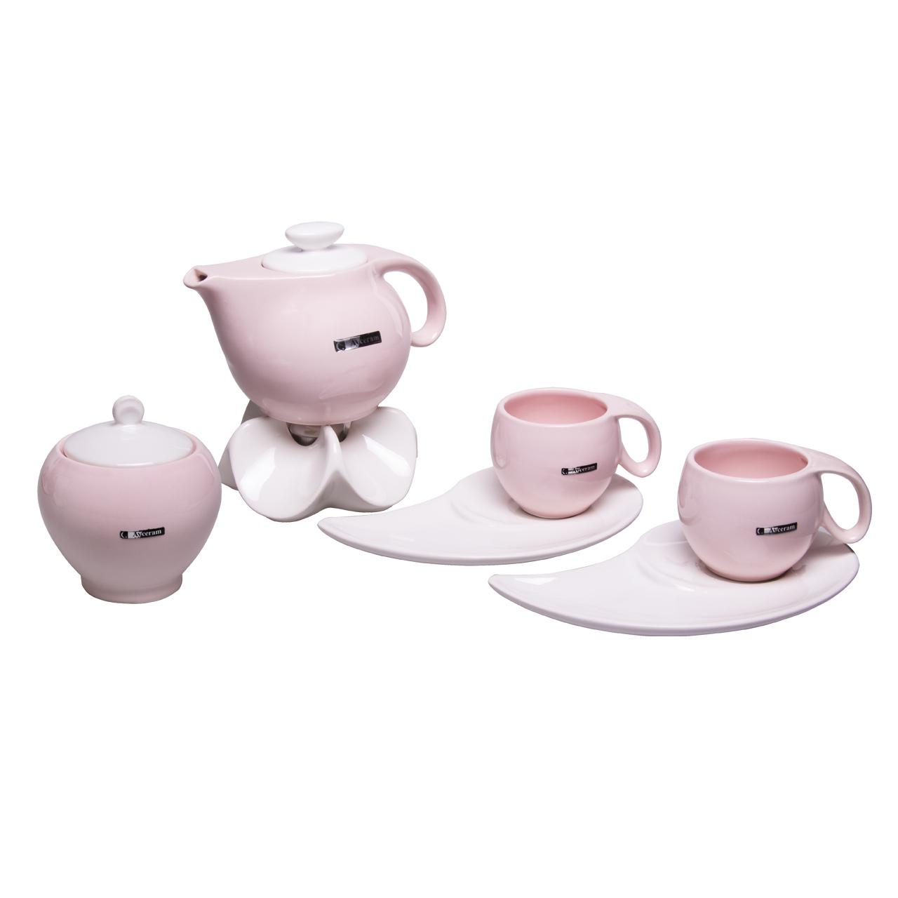 سرویس چای خوری 9 پارچه آی سرام کد 374