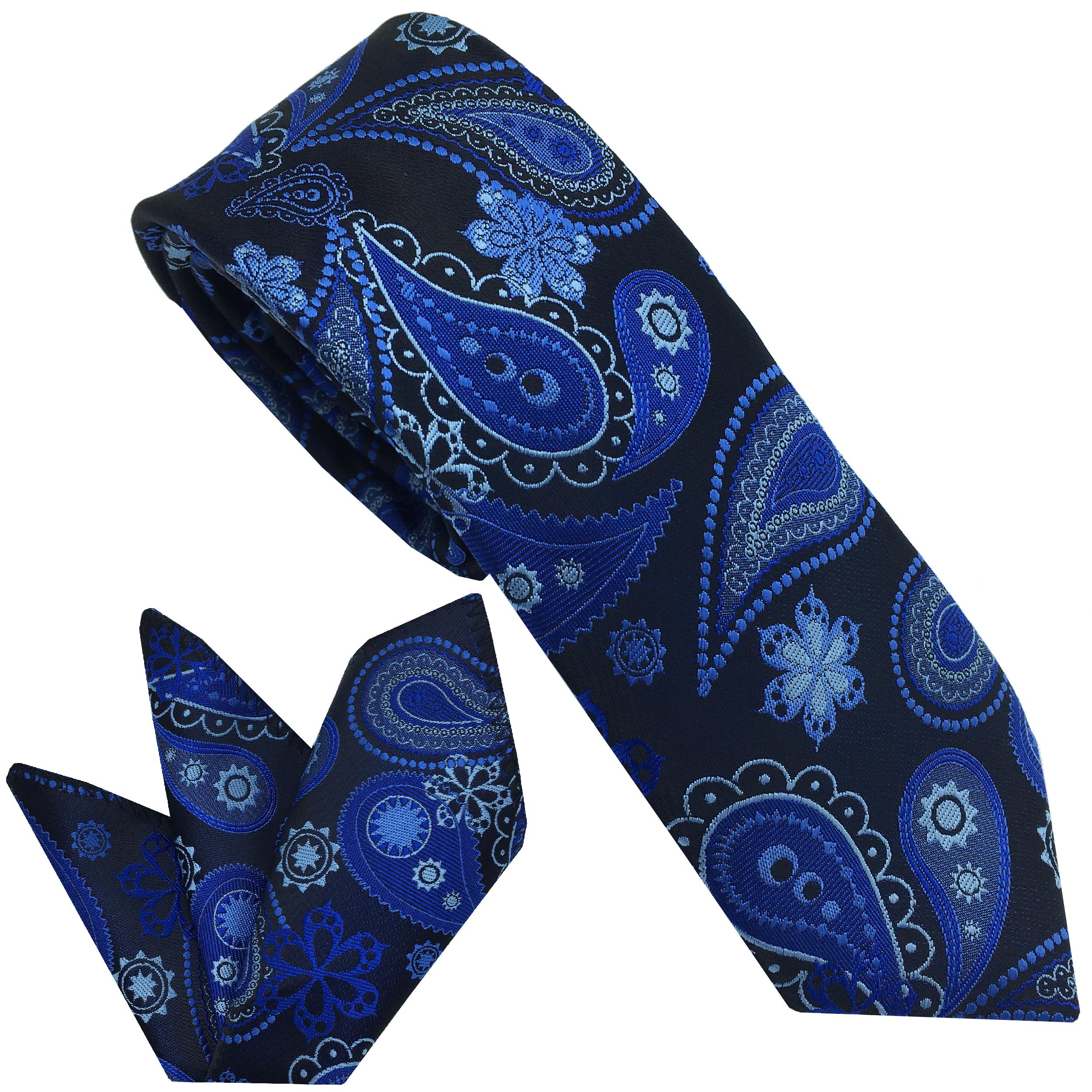 ست کراوات و دستمال جیب مردانه هکس ایران مدل KT-MD13