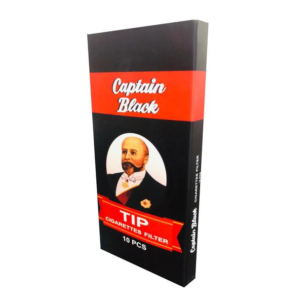 فیلتر سیگار کاپیتان بلک  کد FK10 بسته 10 عددی
