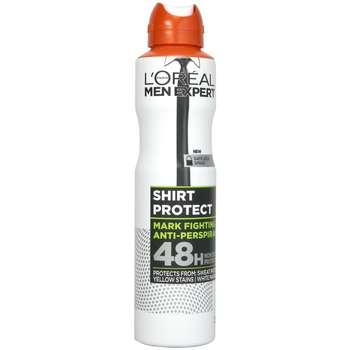 اسپری ضد تعریق مردانه لورآل مدل Shirt Protect Antiperspirant حجم 250 میلی لیتر