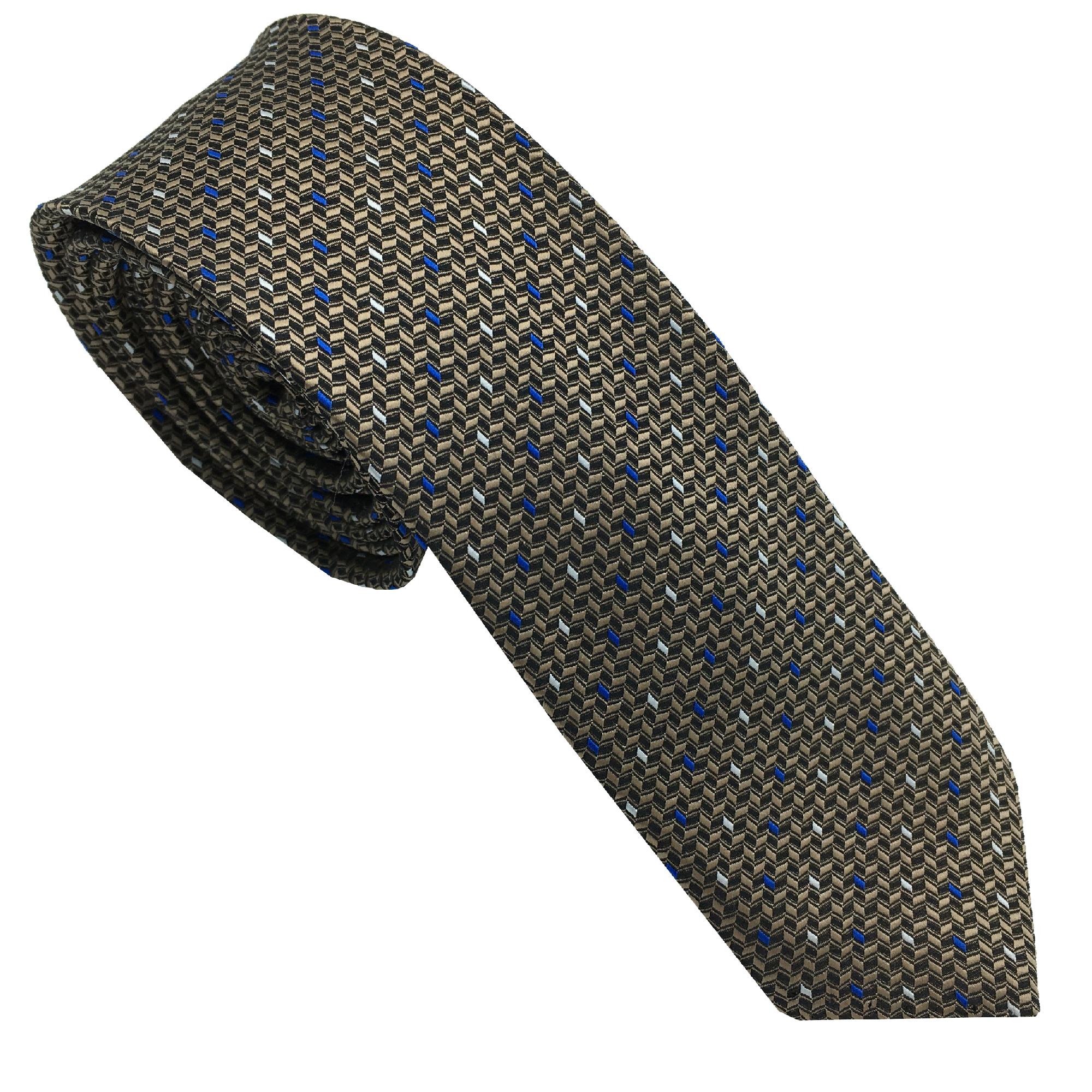 ست کراوات و دستمال جیب مردانه هکس ایران مدل KT-MD09