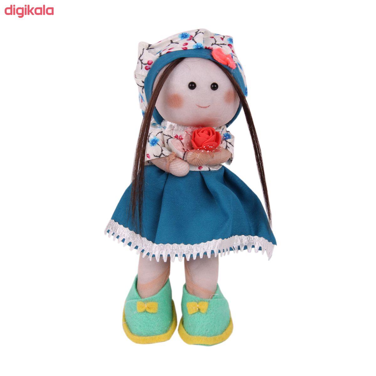 عروسک طرح دختر روسی کد 82 ارتفاع 24 سانتی متر  main 1 1