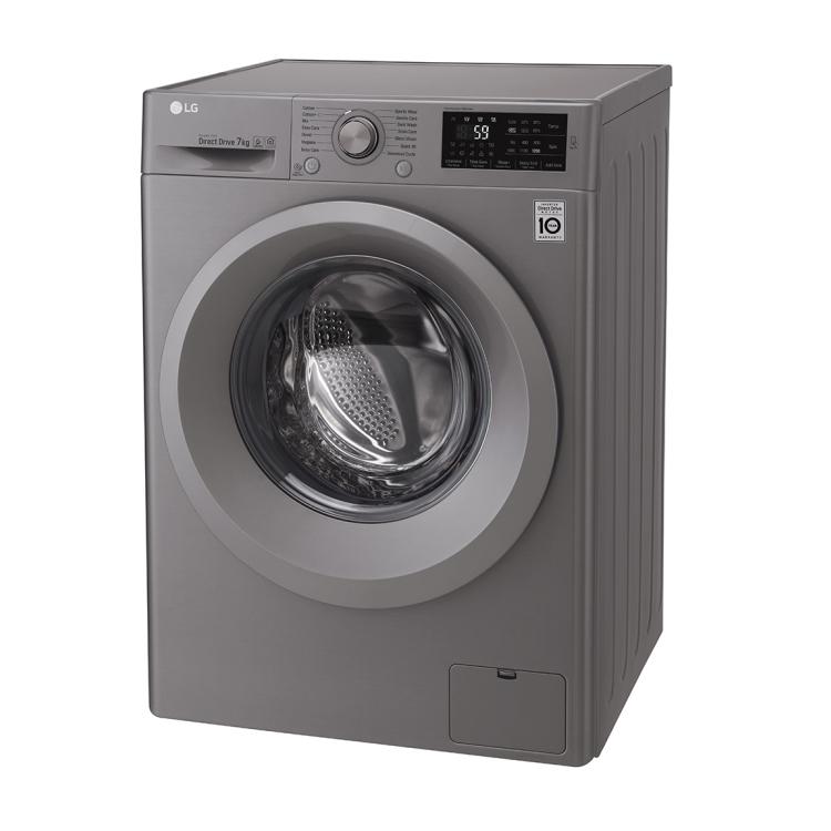 ماشین لباسشویی ال جی مدل WM-721NS ظرفیت ۷ کیلوگرم