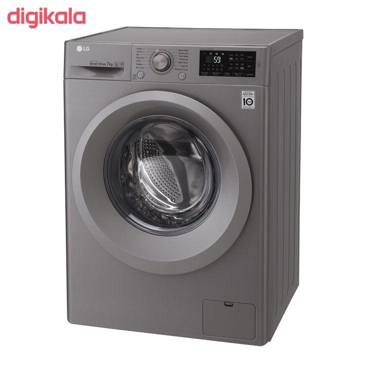 ماشین لباسشویی ال جی مدل WM-721NS ظرفیت ۷ کیلوگرم main 1 2