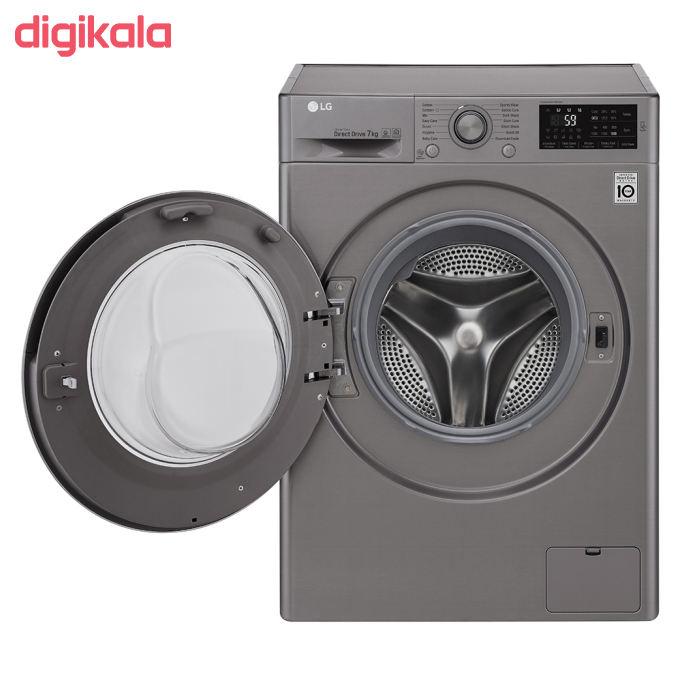 ماشین لباسشویی ال جی مدل WM-721NS ظرفیت ۷ کیلوگرم main 1 4