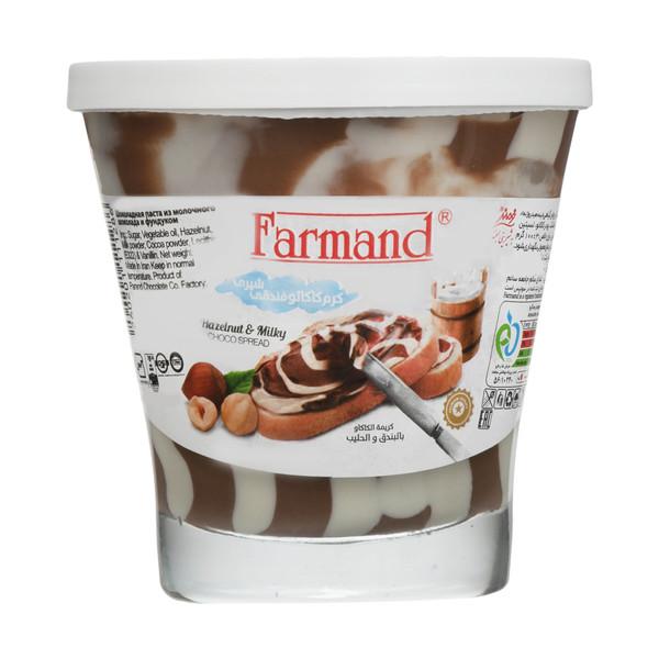 کرم کاکائو فندقی شیری فرمند - 100 گرم