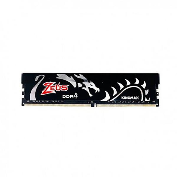 رم دسکتاپ DDR4 تک کاناله 3000 مگاهرتز CL16 کینگ مکس مدل Zeus Dragon ظرفیت 8 گیگابایت