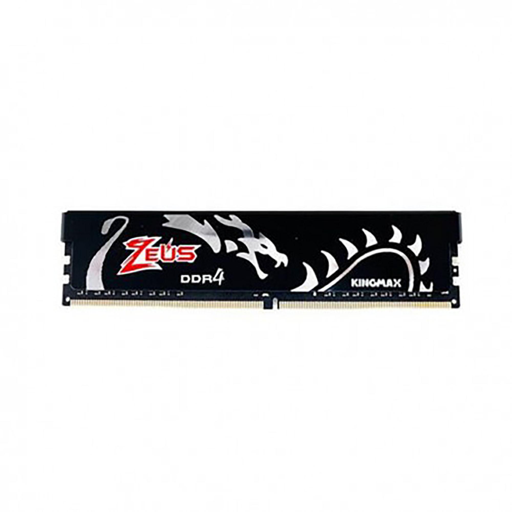 رم دسکتاپ DDR4 تک کاناله 3200 مگاهرتز CL16 کینگ مکس مدل Zeus Dragon ظرفیت16گیگابایت